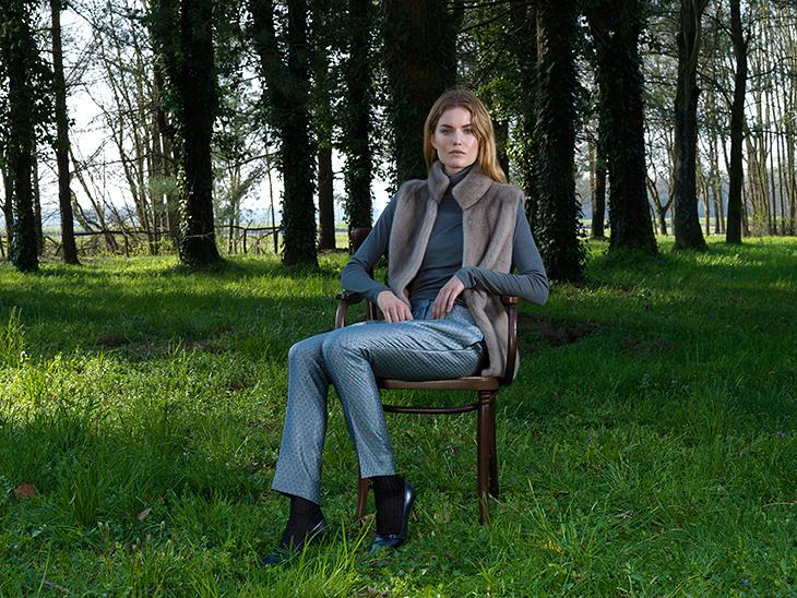 Elise Gug Autumn Winter 2014/2015 image campaign photographed by Hansen-Hansen.com