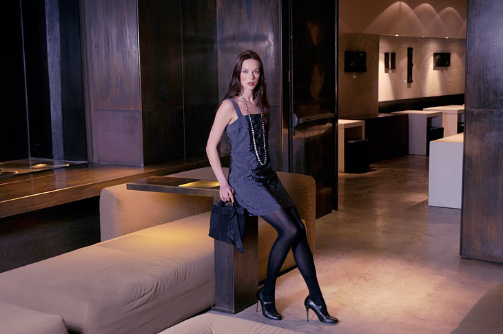 Image campaign for Elise Gug Autumn/Winter 2010, Hotel Straf, Milan, Photo: Hansen-Hansen.com