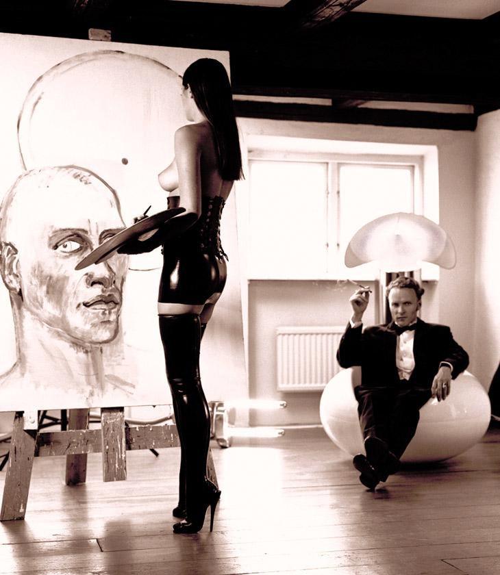 The Paintress, 1995, photo: Hansen-Hansen.com