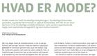 Post image for News: Erik Hansen-Hansen in Inform magazine: What is fashion ?