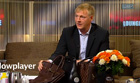 Erik Hansen-Hansen in TV2 Lorry Lounge interview about luxury handbags on August 24  2011