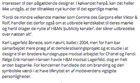 Post image for News: Erik Hansen-Hansen quoted in Urban October 2012