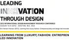 Post image for News: Erik Hansen-Hansen conference paper on fashion entrepreneurship