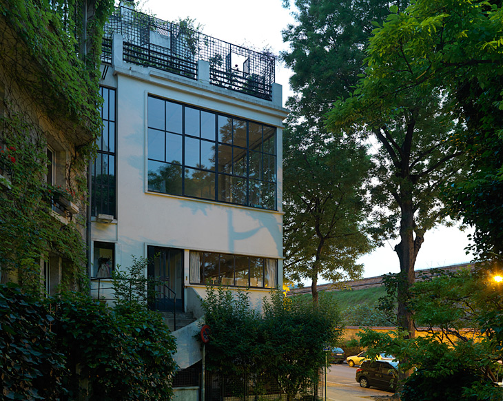Ozenfant House and Studio in Paris by Le Corbusier