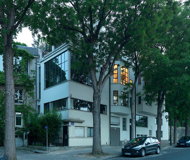 ozenfant house by le corbusier. Black Bedroom Furniture Sets. Home Design Ideas