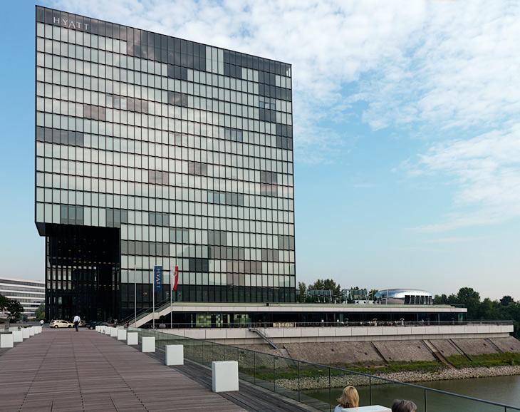 Hotel Hyatt Regency in Düsseldorf Medienhafen