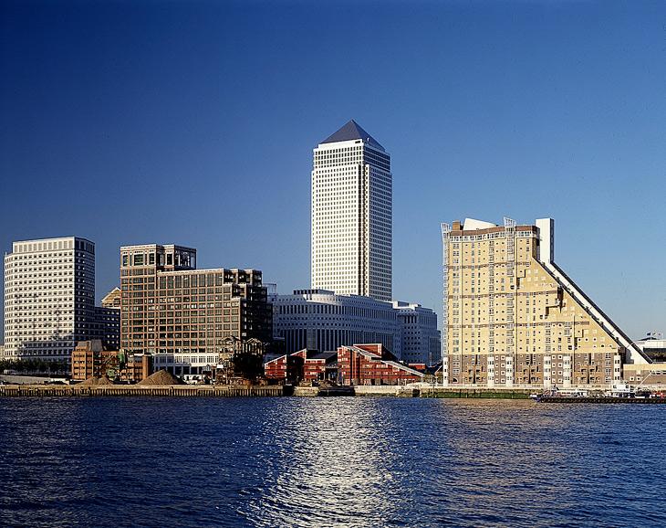 Canary Wharf, 1991