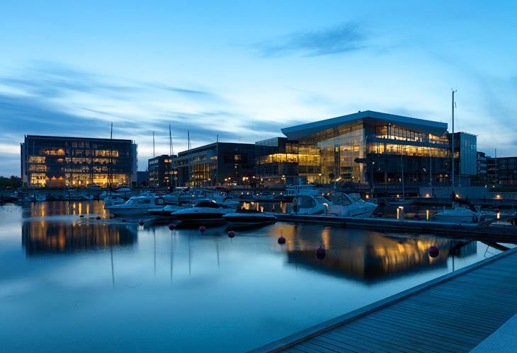Tuborg Harbour (Tuborg Havn) photographed by Hansen-Hansen.com, 2010